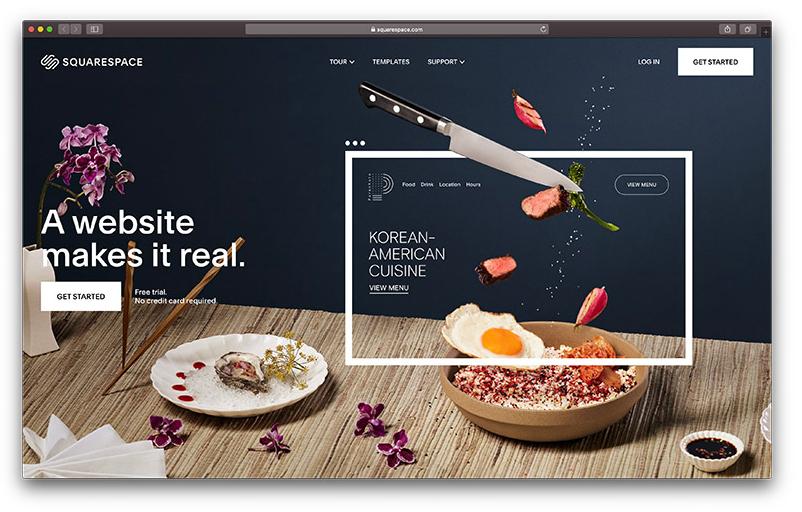 Squarespace از بهترین فروشگاه سازها برای طراحی سایت فروشگاهی