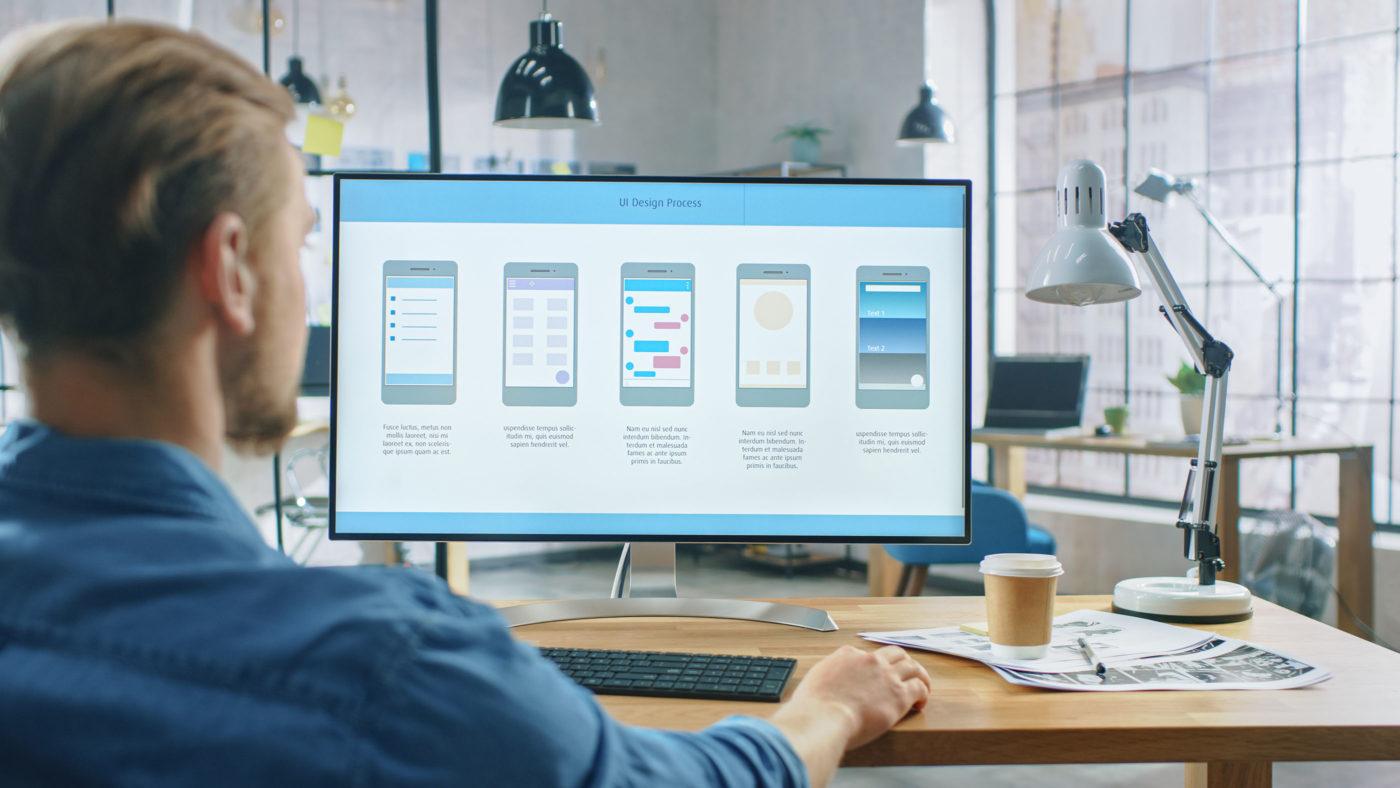 طراح UI از نیروهای شرکت طراحی وب سایت