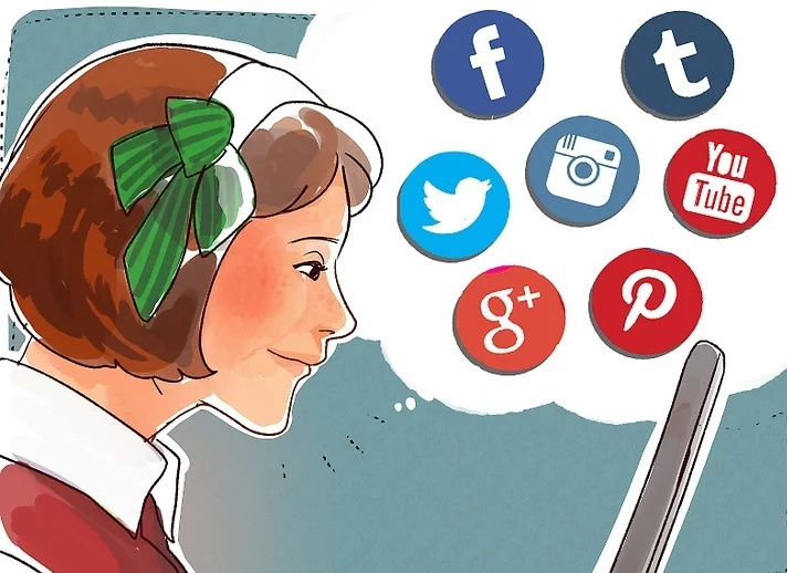 توسعه دهنده وب و تقویت حضور در رسانه های اجتماعی
