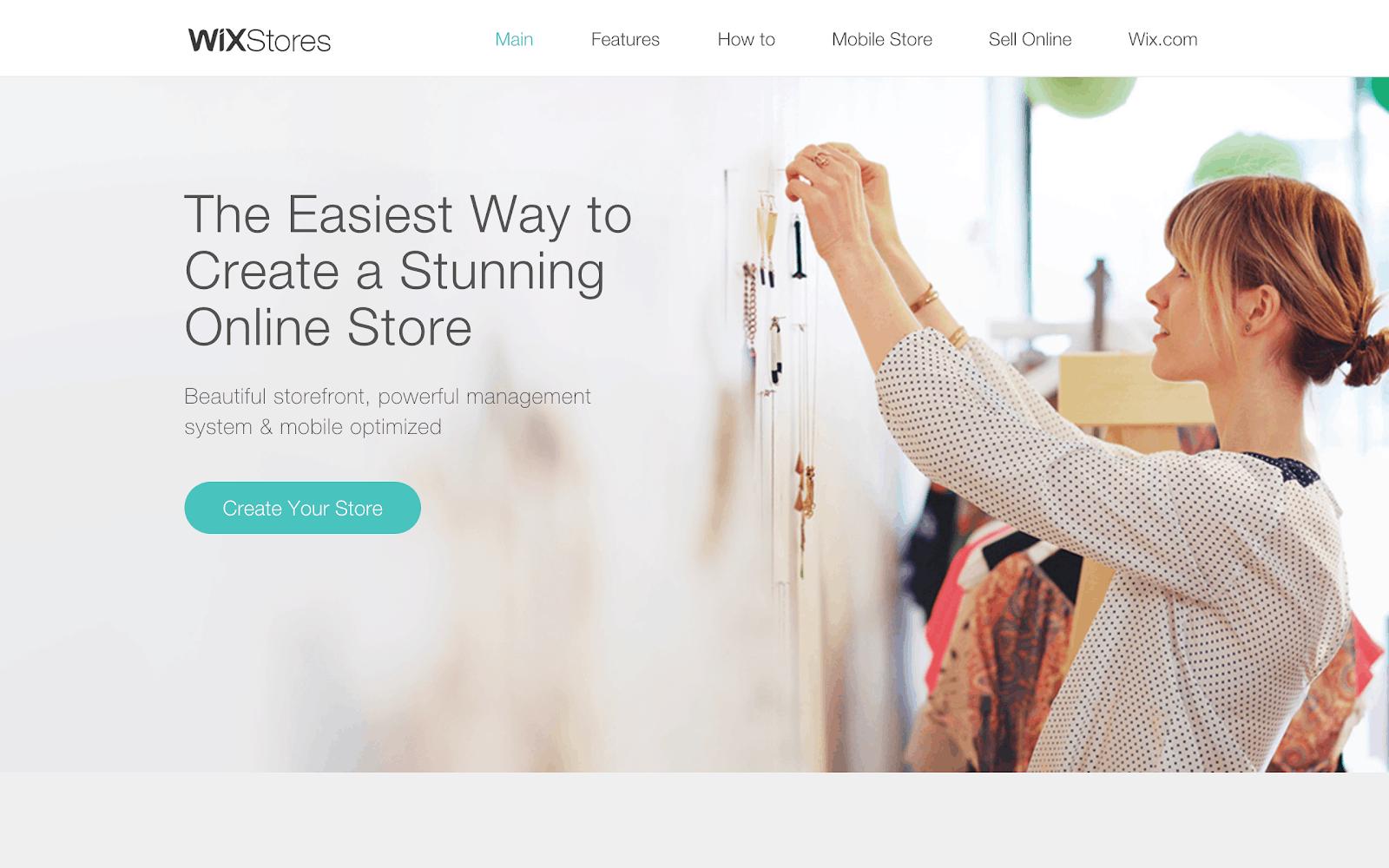 WIX یکی از بهترین فروشگاه سازها جهت طراحی وب سایت فروشگاهی