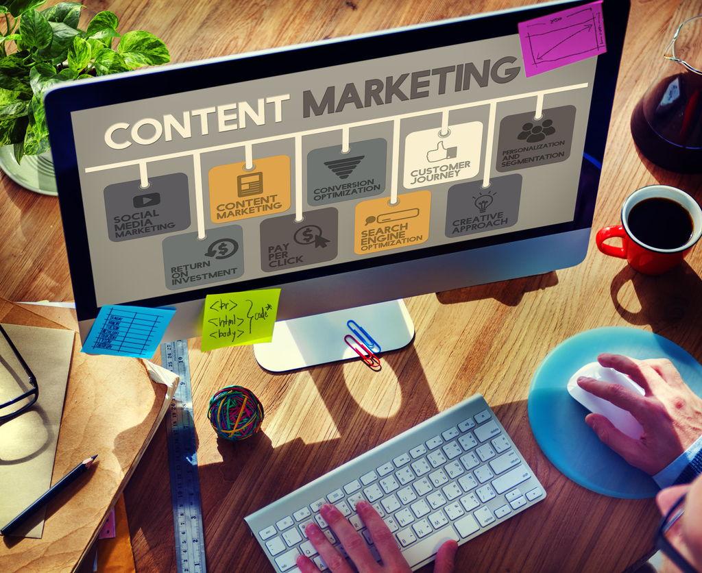 بازاریابی محتوا، از انواع دیجیتال مارکتینگ