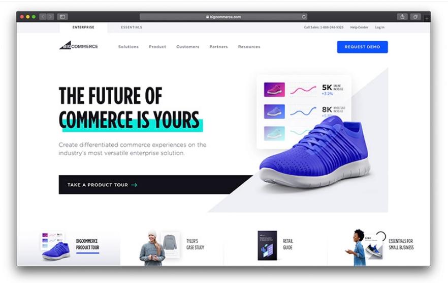 BigCommerce از بهترین فروشگاه سازها برای طراحی سایت فروشگاهی
