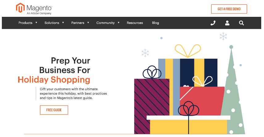 Magento از بهترین فروشگاه سازها برای طراحی سایت فروشگاهی