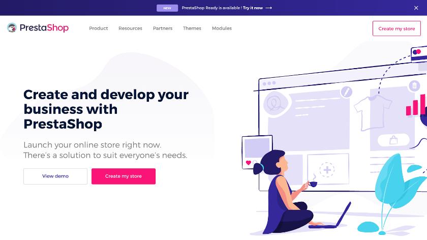 PrestaShop از بهترین فروشگاه سازها برای طراحی سایت فروشگاهی