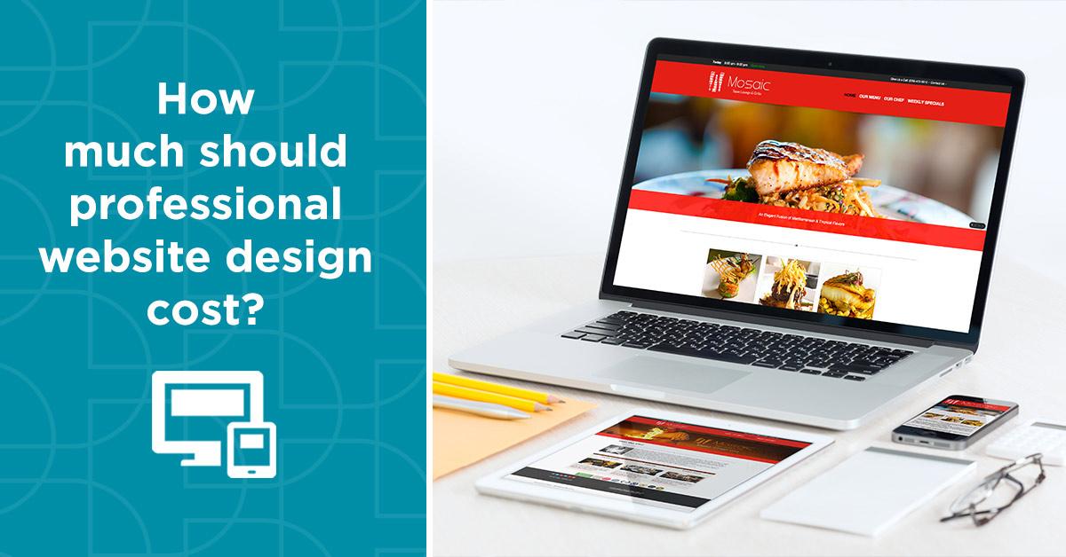 تعرفه رسمی طراحی وبسایت