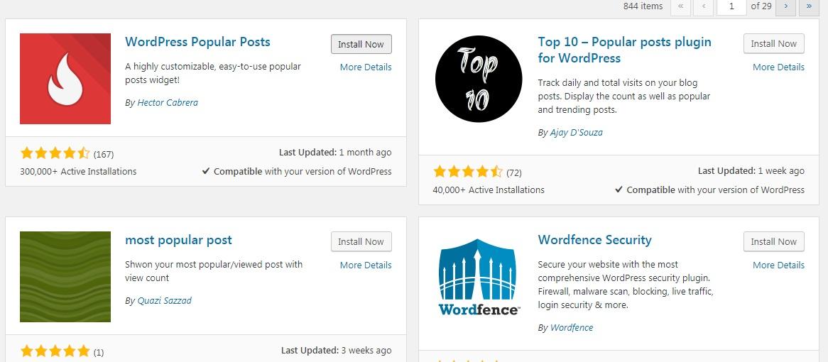 پلاگین محبوب ترین پست ها در وردپرس، از مراحل انتقال وبسایت از جوملا به وردپرس